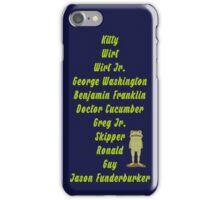 Jason Funderburker iPhone Case/Skin