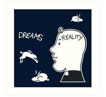 Fr. Ted - Dreams Vs. Reality Art Print