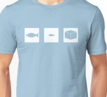 Big Fish, Little Fish, Cardboard Box Unisex T-Shirt