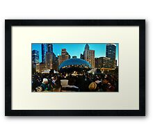 Chicago Dance #1 Photograph Framed Print