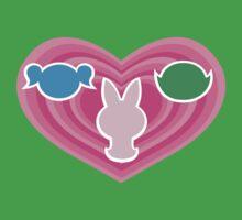 Powerpuff Girls Emblem Baby Tee