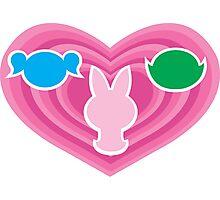 Powerpuff Girls Emblem Photographic Print