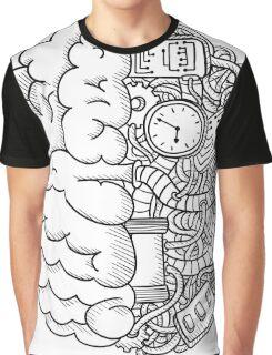 T-shirt Brain Graphic T-Shirt