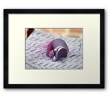 Hat in Miniature : 1x12th scale Framed Print
