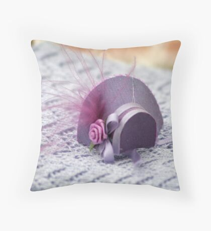 Hat in Miniature : 1x12th scale Throw Pillow
