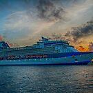 CELEBRITY X CRUISE, {Naval Dockyard Bermuda}.. by buddybetsy