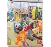 DC Comics Stops For Burgers iPad Case/Skin