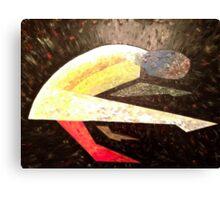 Art of the Asana - Tittibasana Canvas Print