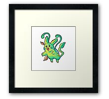 Pikachu - Type Swap - Grass Pokemon Framed Print