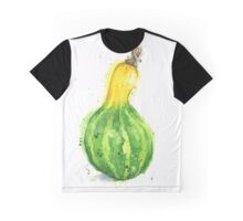 Gourd or Squash Painted in Watercolor Graphic T-Shirt