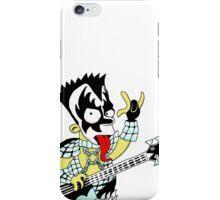 Bart/Kiss pocket print iPhone Case/Skin