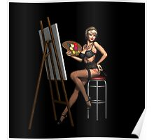 Sexy Painter  Poster