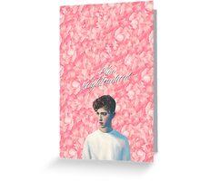 Troye Sivan Blue Neighbourhood Pink Greeting Card