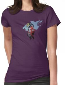 Spacetronaut IN-R3D Womens Fitted T-Shirt