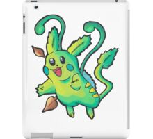 Pikachu - Type Swap - Grass Pokemon iPad Case/Skin