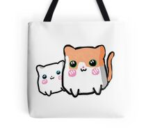 Chibi Cats Tote Bag