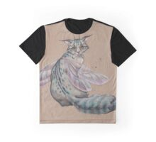 Dragonfly Kitty  Graphic T-Shirt
