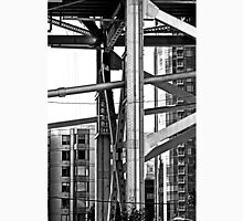 B&W - The Bay Bridge & Apartments San Francisco Unisex T-Shirt