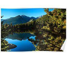 Bear Lake Rocky Mountain National Park Poster