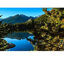 Bear Lake Rocky Mountain National Park Photographic Print