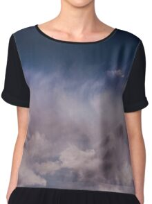 REACH FOR THE SKY  Chiffon Top