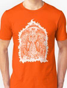 INVADED (white reverse print) Unisex T-Shirt