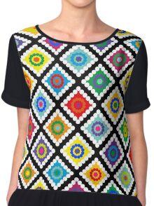 Digital Crochet Chiffon Top