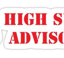 High Surf Advisory Sticker