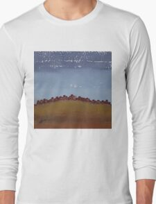 Pueblo on the Hill original painting Long Sleeve T-Shirt