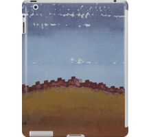 Pueblo on the Hill original painting iPad Case/Skin