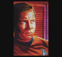 Captain Kirk Starfleet Enterprise by JMCSharpieArt