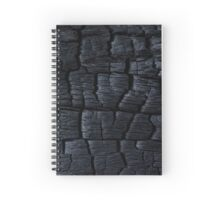 Charred Spiral Notebook