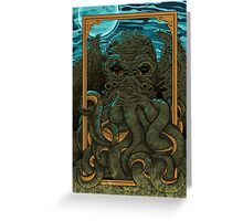 Answering the Call of Cthulhu Greeting Card