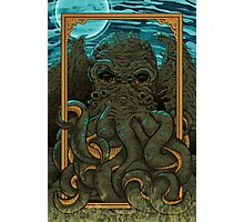 Answering the Call of Cthulhu Photographic Print