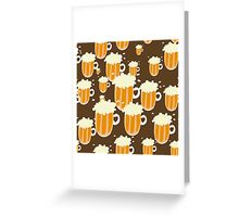 B is for BEER! Greeting Card