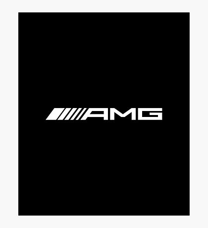 AMG WHITE Photographic Print
