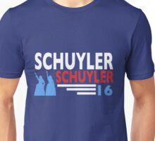 Vote Schuyler 2016 Unisex T-Shirt