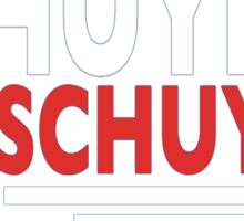 Vote Schuyler 2016 Sticker
