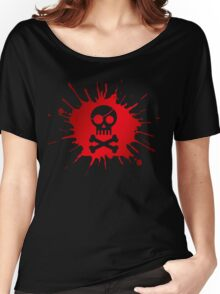 Pirate Halloween Skull Women's Relaxed Fit T-Shirt