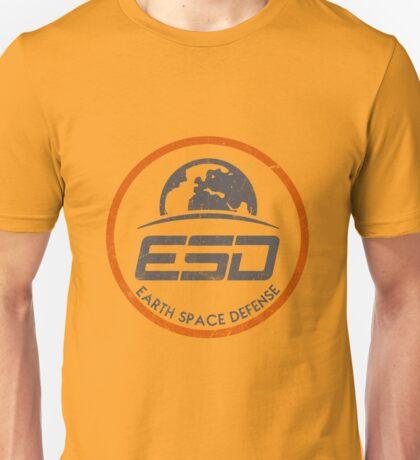 ESD - EARTH SPACE DEFENSE (2) Unisex T-Shirt