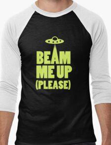 Beam Me Up (T-Shirt)  Men's Baseball ¾ T-Shirt