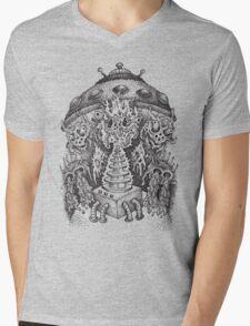 INVADED (black) Mens V-Neck T-Shirt