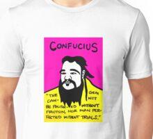 Pop folk art of Chinese philosopher Confucius Unisex T-Shirt