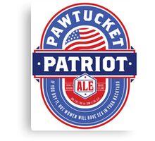 Pawtucket Patriot Ale Canvas Print