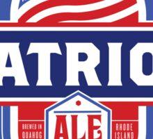 Pawtucket Patriot Ale Sticker