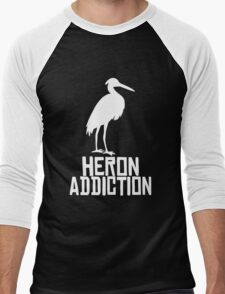 Heron Addiction Men's Baseball ¾ T-Shirt