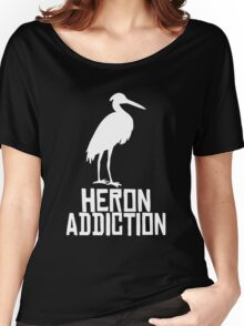 Heron Addiction Women's Relaxed Fit T-Shirt