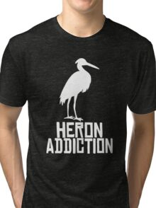 Heron Addiction Tri-blend T-Shirt