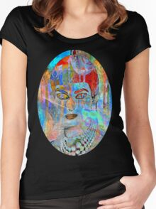 callas in wonderland Women's Fitted Scoop T-Shirt