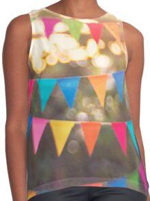 Let the celebrations begin! Contrast Tank